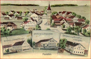 Pastetten Postkarte